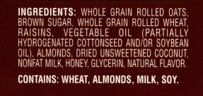 Cottonseed and Soybeans are both GM products and HYDROGENATED is NOT natural!